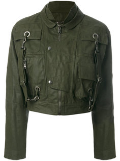 укороченная куртка  Moschino