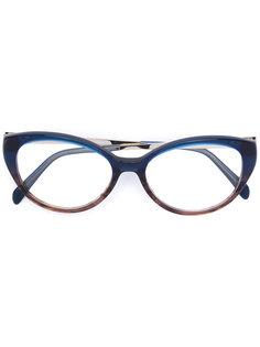 очки в оправе кошачий глаз Emilio Pucci