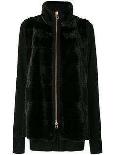 куртка с контрастными панелями Liska