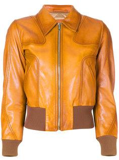 куртка с эластичным подолом Prada