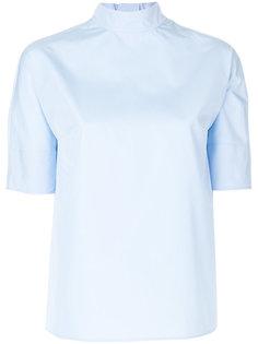 блузка с завязками на шее Prada