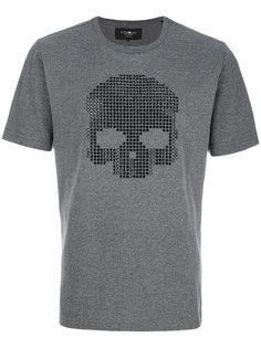 футболка с декорированным черепом Hydrogen