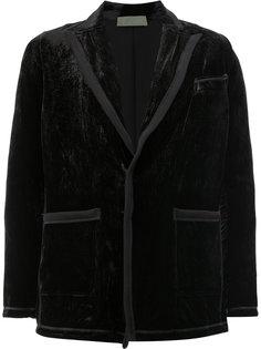 бархатный пиджак Di Liborio