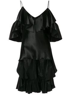 блузка с рюшами Maria Lucia Hohan