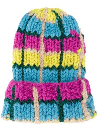 объемная вязаная шапка  Natasha Zinko