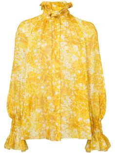 блузка с оборчатым воротником Sonia Rykiel