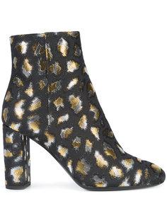 ботинки Loulou на молнии Saint Laurent
