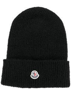 классическая трикотажная шапка Moncler