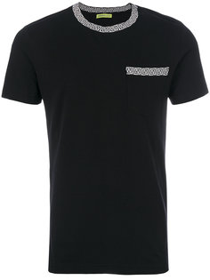 футболка с окантовкой Greek Key Versace Jeans