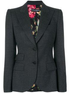 приталенный пиджак Dolce & Gabbana