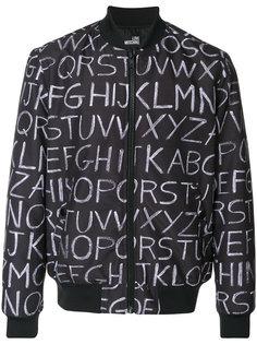 куртка-бомбер Lavagna Love Moschino