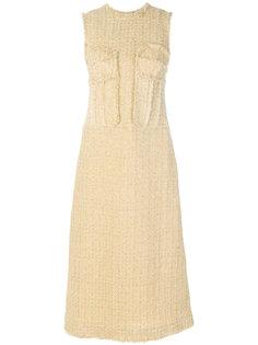 твидовое платье  Simone Rocha