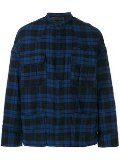 куртка в клетку Haider Ackermann