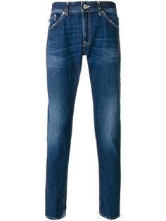 """джинсы """"скинни"""" с эффектом потертости Dondup"""