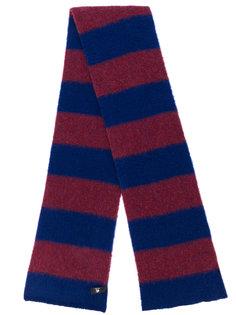 трикотажный шарф в полоску Ps By Paul Smith