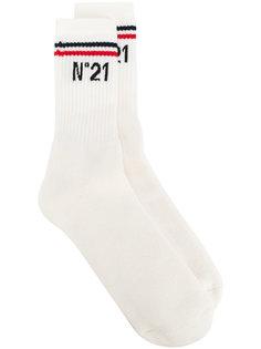носки с логотипами бренда Nº21