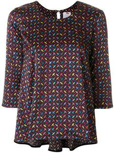 блузка с вышивкой  Ultràchic