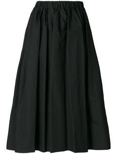 плиссированная юбка с бисером  Simone Rocha