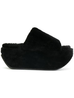 сандалии с открытым носком на платформе Peter Non