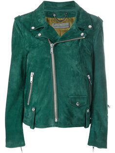 байкерская куртка с принтом Golden Goose Deluxe Brand