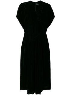 платье с V-образным вырезом  Simone Rocha