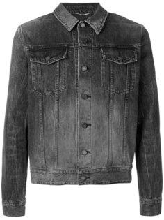 куртка Jean  с потертой отделкой Saint Laurent