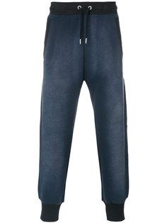 спортивные брюки с градиентным эффектом Diesel