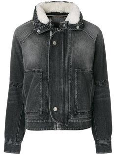 приталенная джинсовая куртка  Saint Laurent