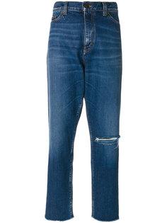 классические джинсы-бойфренды Saint Laurent
