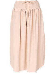 плиссированная юбка Agnona