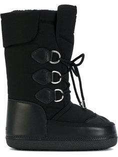 зимние сапоги на шнуровке Dsquared2