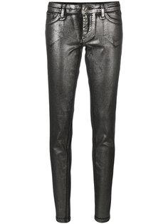 джинсы скинни с покрытием  Philipp Plein