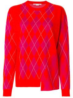 свитер вязки аргайл Stella McCartney
