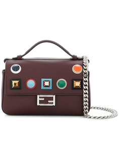 сумка на плечо Double Micro Baguette Fendi