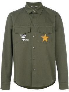 рубашка с заплатками Valentino