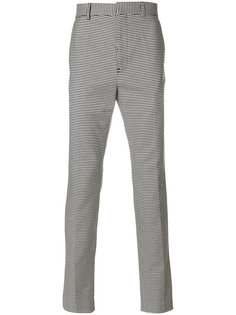брюки с узором в ломаную клетку Haider Ackermann