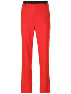 брюки прямого кроя Lanvin