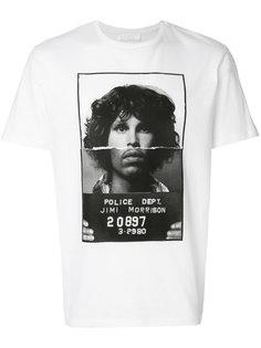 футболка с принтом Jimi Morrison Neil Barrett