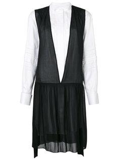 платье-рубашка с заниженной талией Burberry