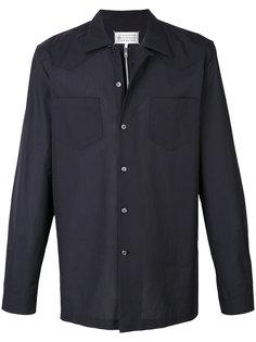 рубашка с застежкой на молнию и на пуговицы Maison Margiela