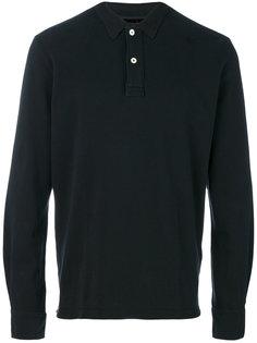 классическая футболка-поло с длинными рукавами Eleventy