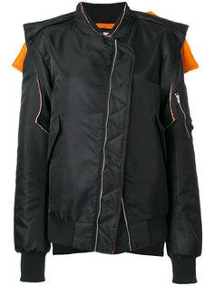 асимметричная куртка свободного кроя Moohong