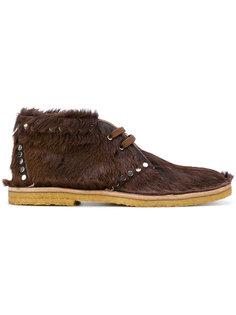 ботинки с заклепками Prada
