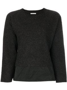 свитер с многослойным дизайном Stefano Mortari