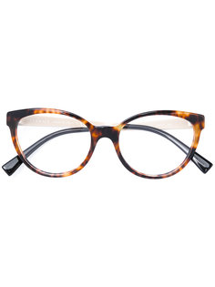 очки с контрастными дужками Versace