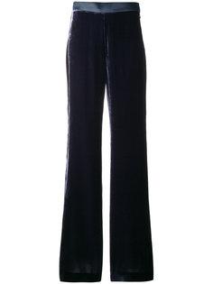 фактурные брюки клеш  Mantu
