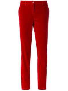 бархатные брюки капри  Etro