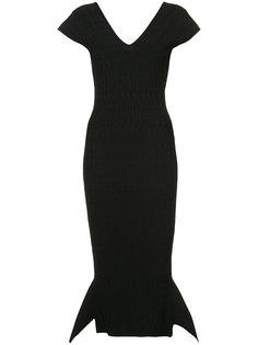 платье Stockcross со сборками Roland Mouret