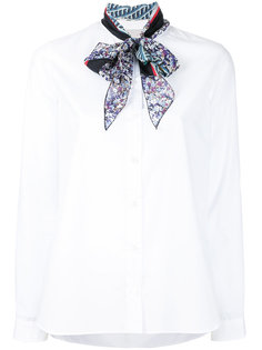 рубашка с шарфом на шее Kolor