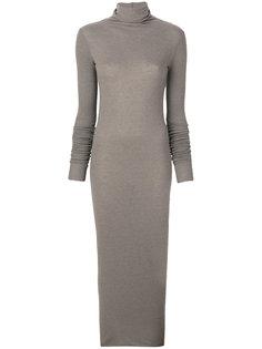 платье с высоким воротником Rick Owens Lilies